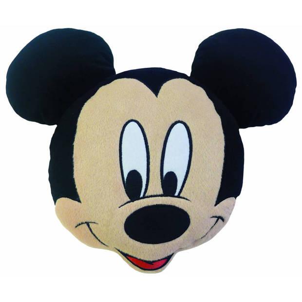 Disney Mickey Mouse 3D Smile - Kussen - 40 x 46 cm - Multi
