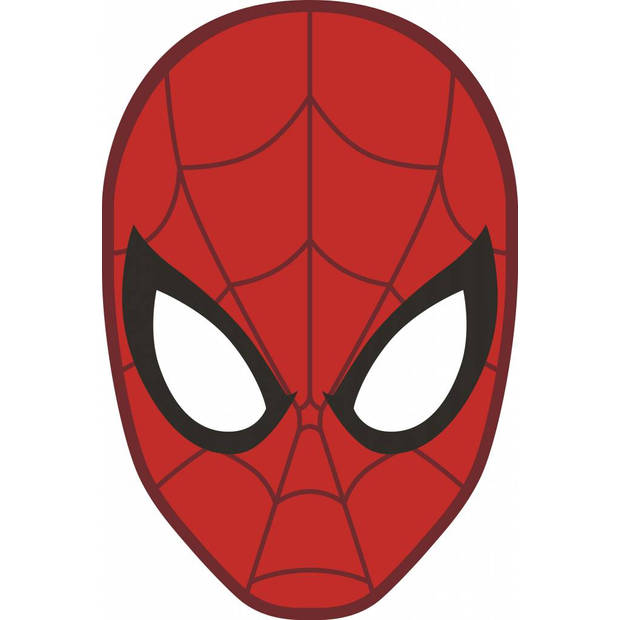 Masker 3d - kussen - 36 x 24 cm - rood