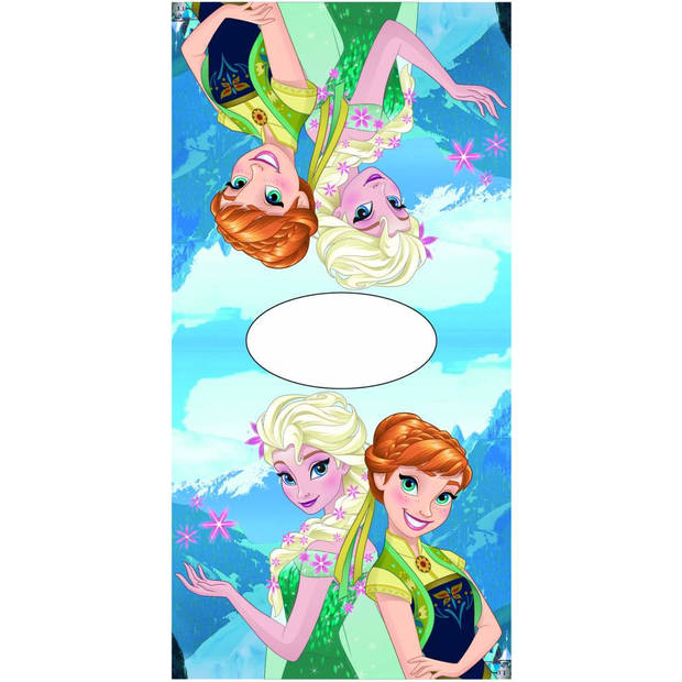 Disney Elsa Anna Present - Poncho - 50 x 100 cm - Multi