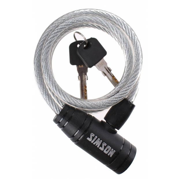 Simson 020838 Simson kabelslot 900 x 8 mm zilver