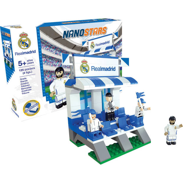 Nanostars bouwset tribune Real Madrid - 90 stuks