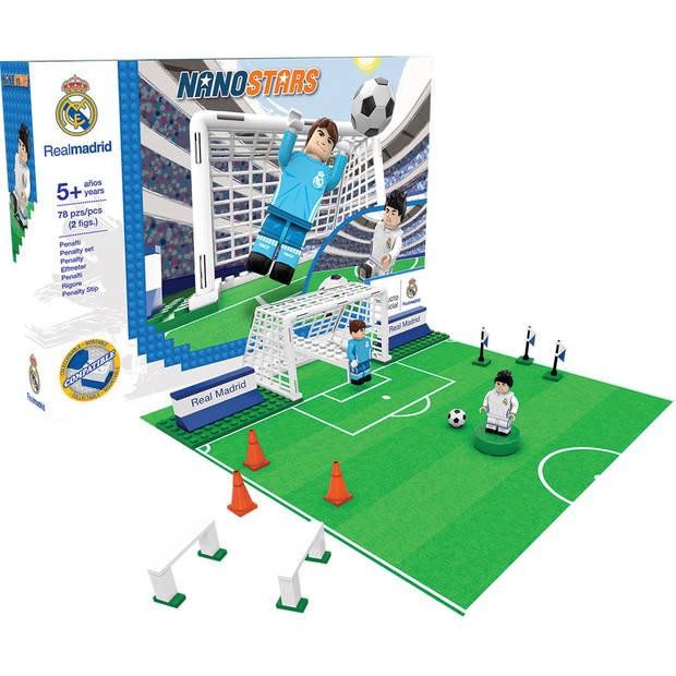 Nanostars bouwset penalty set Real Madrid - 200 stuks