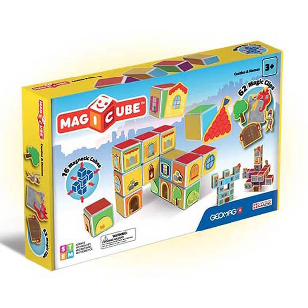 Geomag MagiCube kastelen en huizen