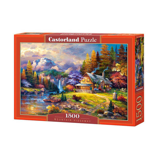 Castorland puzzel Mountain hideaway - 1500 stukjes