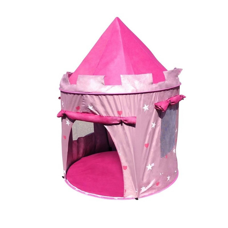 Afbeelding van Amleg pop-up speeltent roze 104 x 140 cm