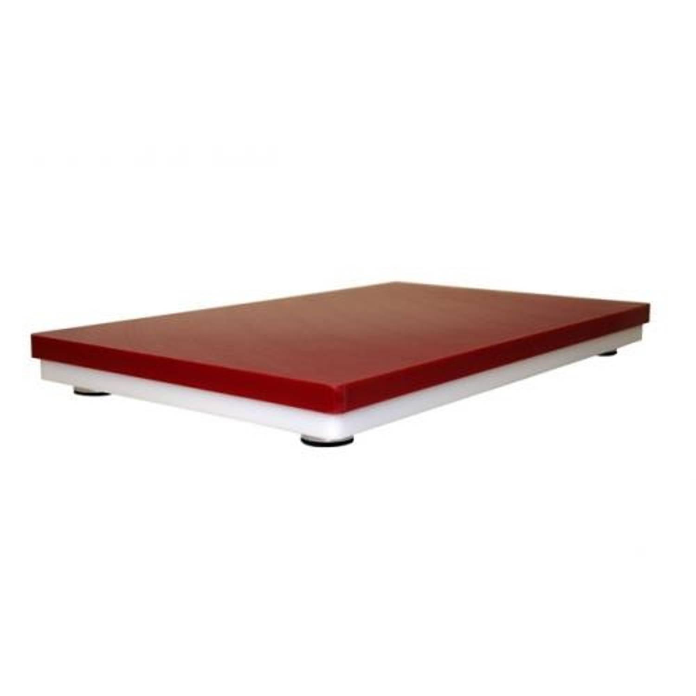 Hakplank rood, 30 x 40cm - profboard