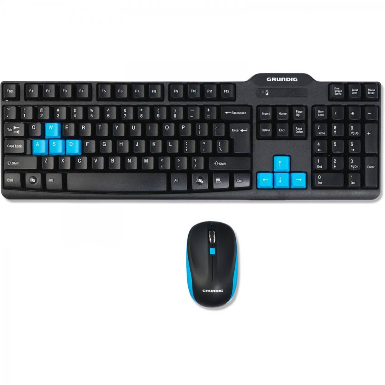 Grundig draadloos toetsenbord met muis - 52824 | Blokker