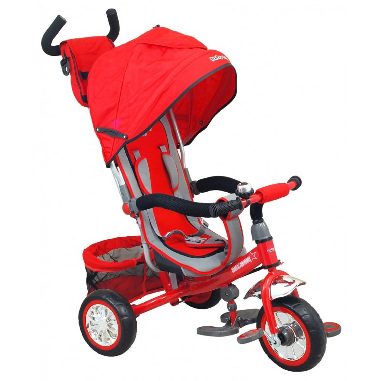 Afbeelding van Multifunctionele driewieler in rood