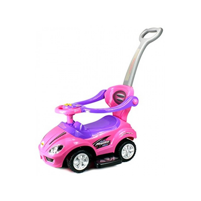 Afbeelding van Kleine loopauto- roze