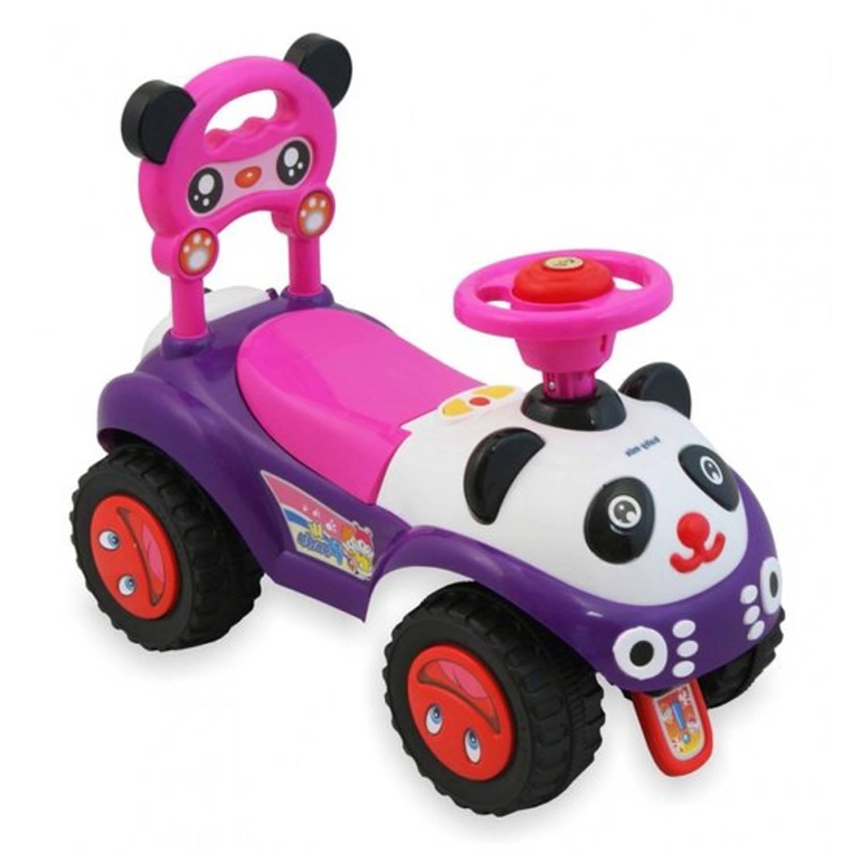 Afbeelding van Kleine Panda loopauto-rose