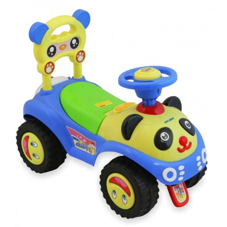 Afbeelding van Panda loopauto-blauw