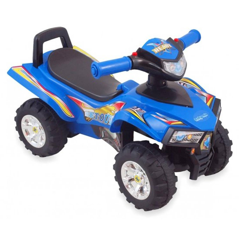 Afbeelding van Blauwe loopauto