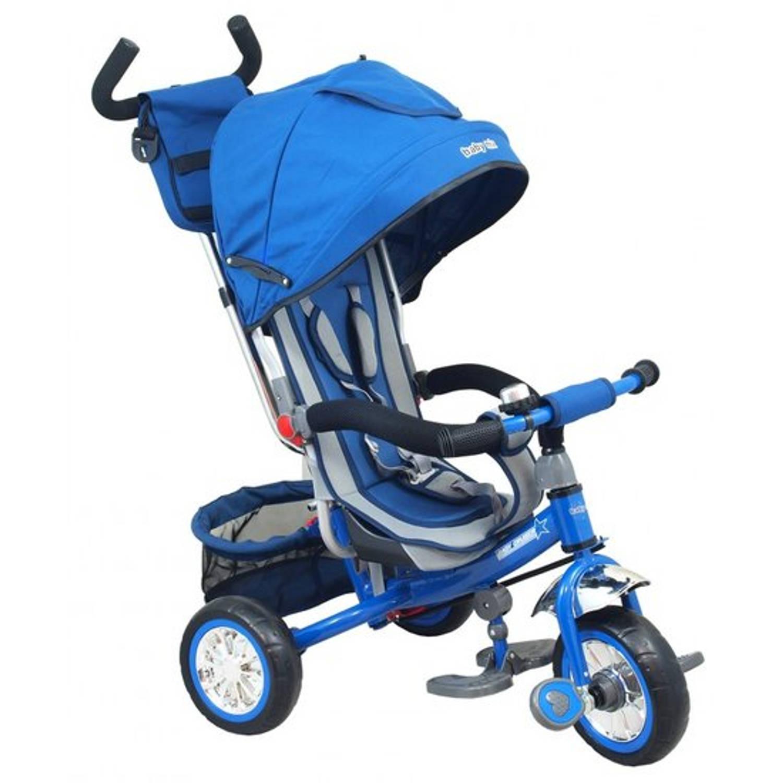 Afbeelding van Multifunctionele driewieler in blauw
