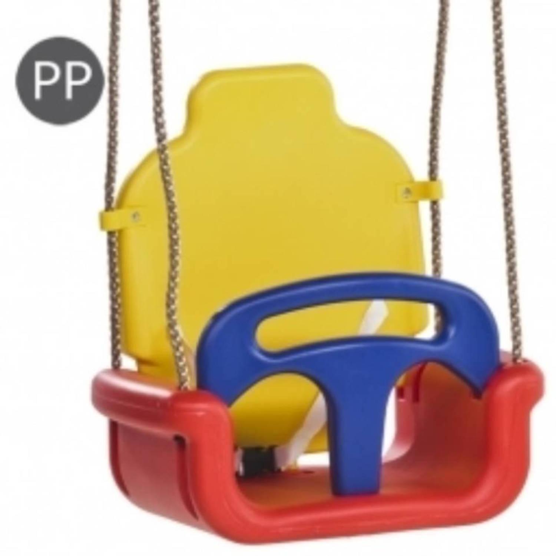 Korting Kbt Meegroei Baby Schommel 3 In 1 Rood geel blauw