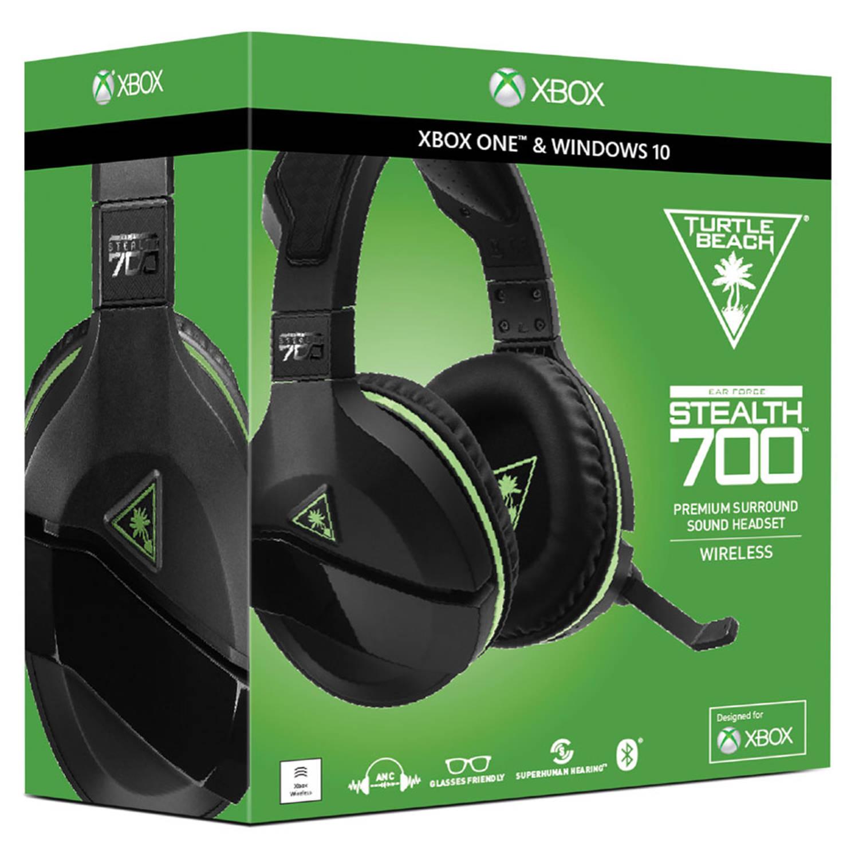 Xbox One Turtle Beach Stealth 700X draadloze gamingheadset - zwart