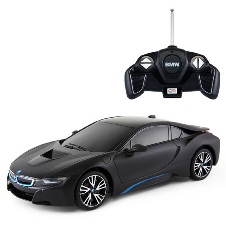 Radio Control BMW i8 Mat Zwart 1:18