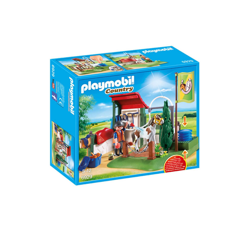 6929 Playmobil Paardenwasplaats