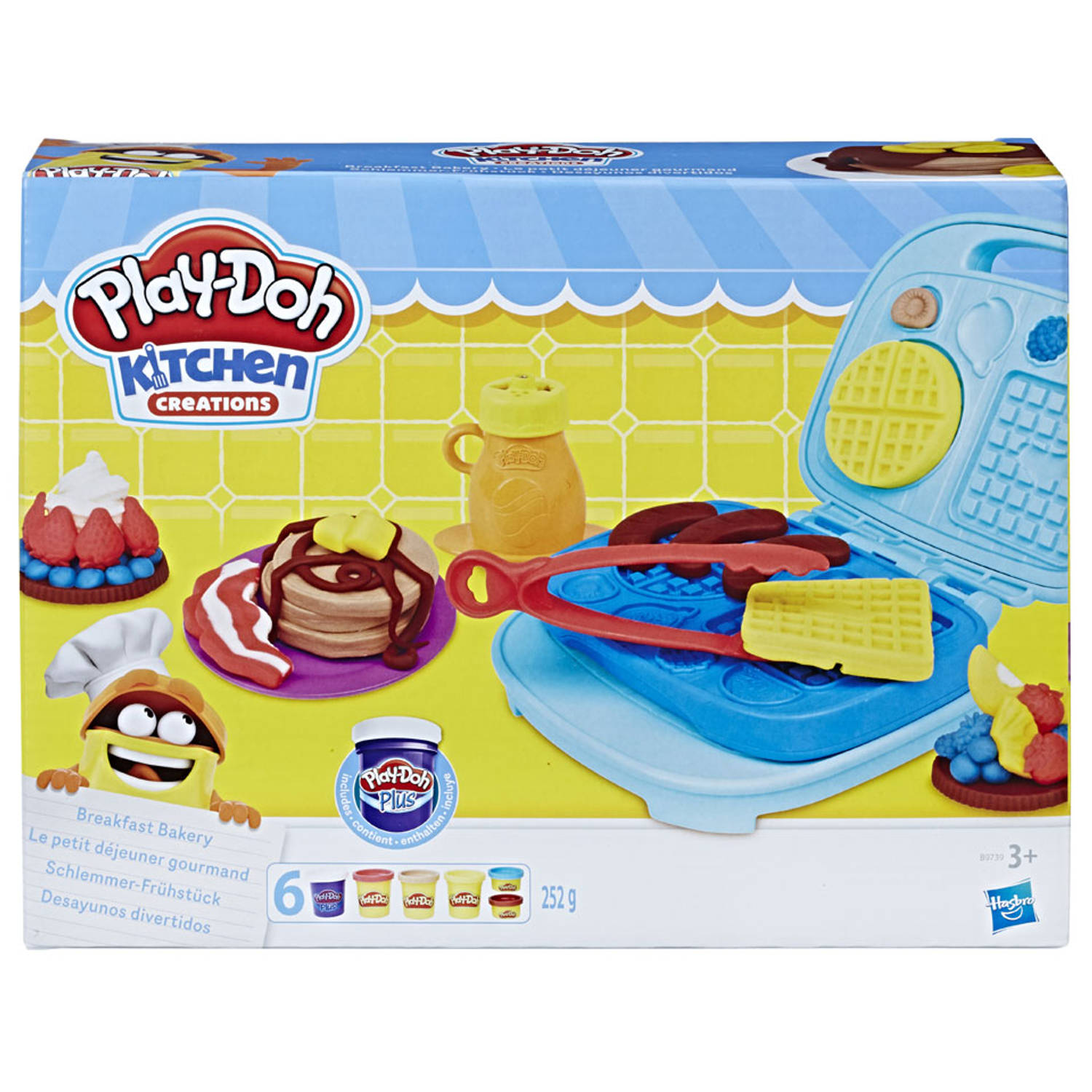 Play-doh Kitchen Creations Ontbijt Speelset
