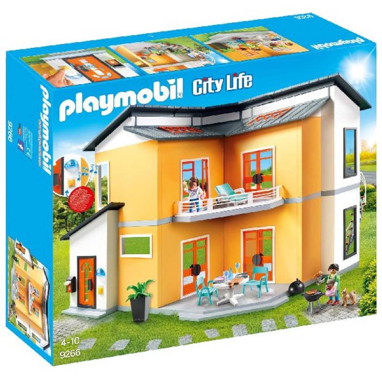 PLAYMOBIL City Life modern woonhuis 9266 | Blokker