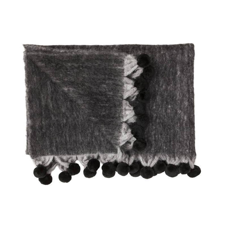 Heckett & Lane Doreen plaid - 100% acryl - 150x220 cm - Grijs