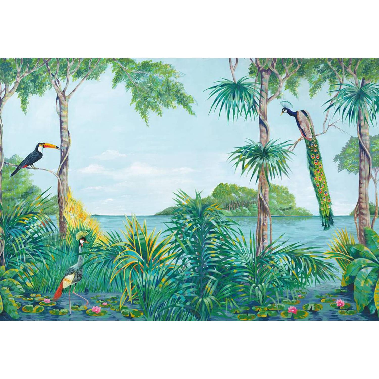 - Blue Lagoon - 366 x 254 cm - Multi