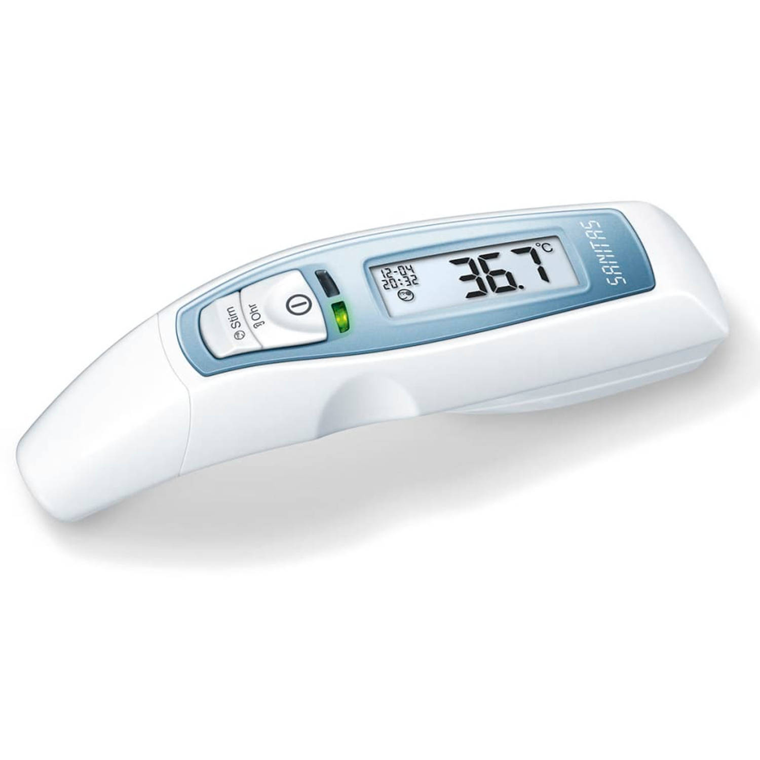 Sanitas Multifunctionele thermometer 6-in-1 wit SFT 65