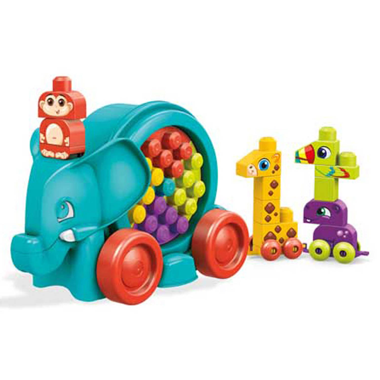 Mega Bloks olifantenparade - 25 stukjes