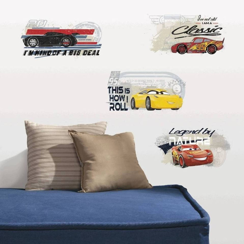 Roommates Muurstickers Cars 4 Stickers