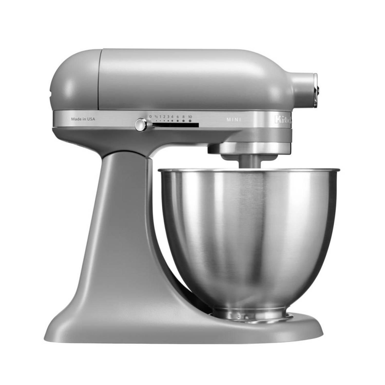 KitchenAid Artisan Mini Mixer keukenmixer 5KSM3311 - mat grijs