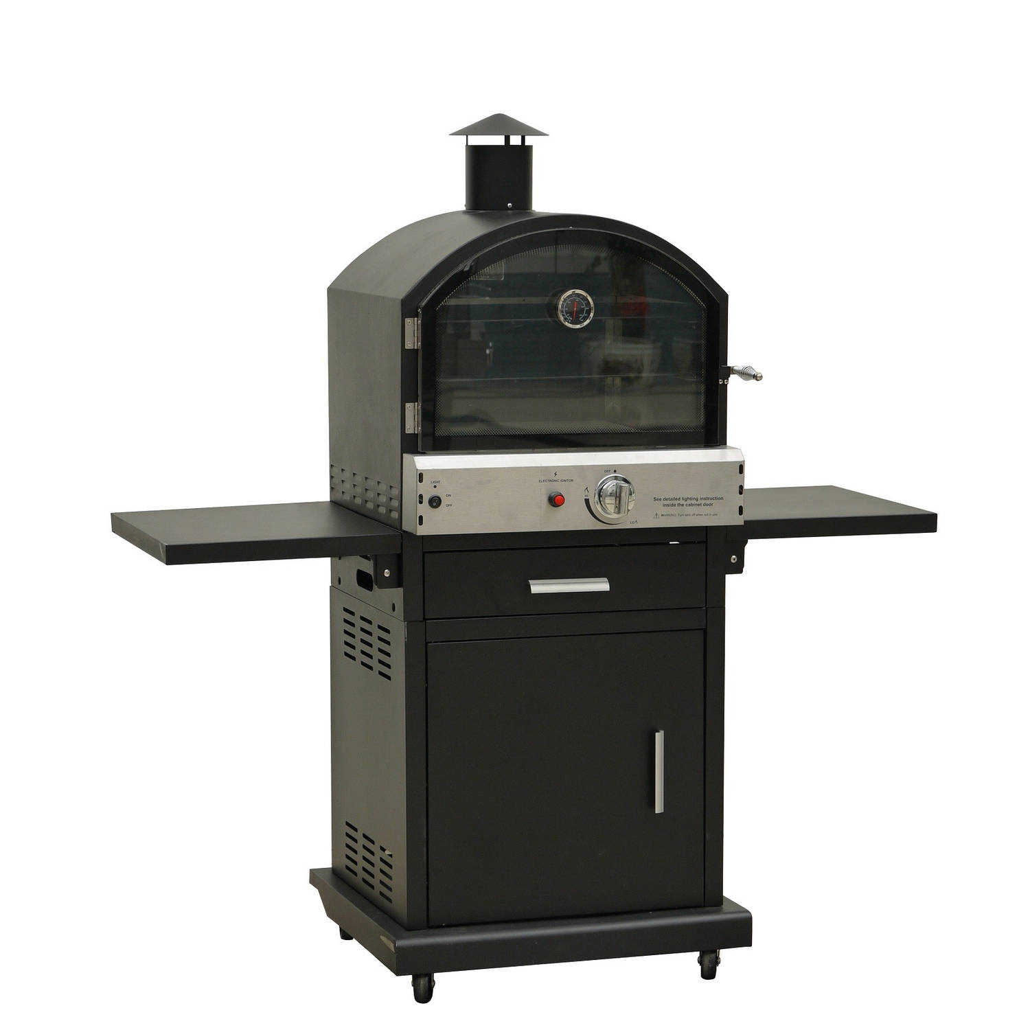 Justfire bbq gas pizza (pizza oven)