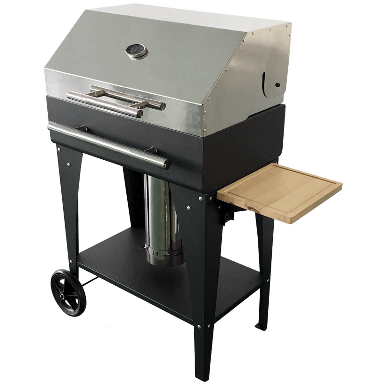JustFire BBQ PELLET GARDEN (met kap en temp meter)