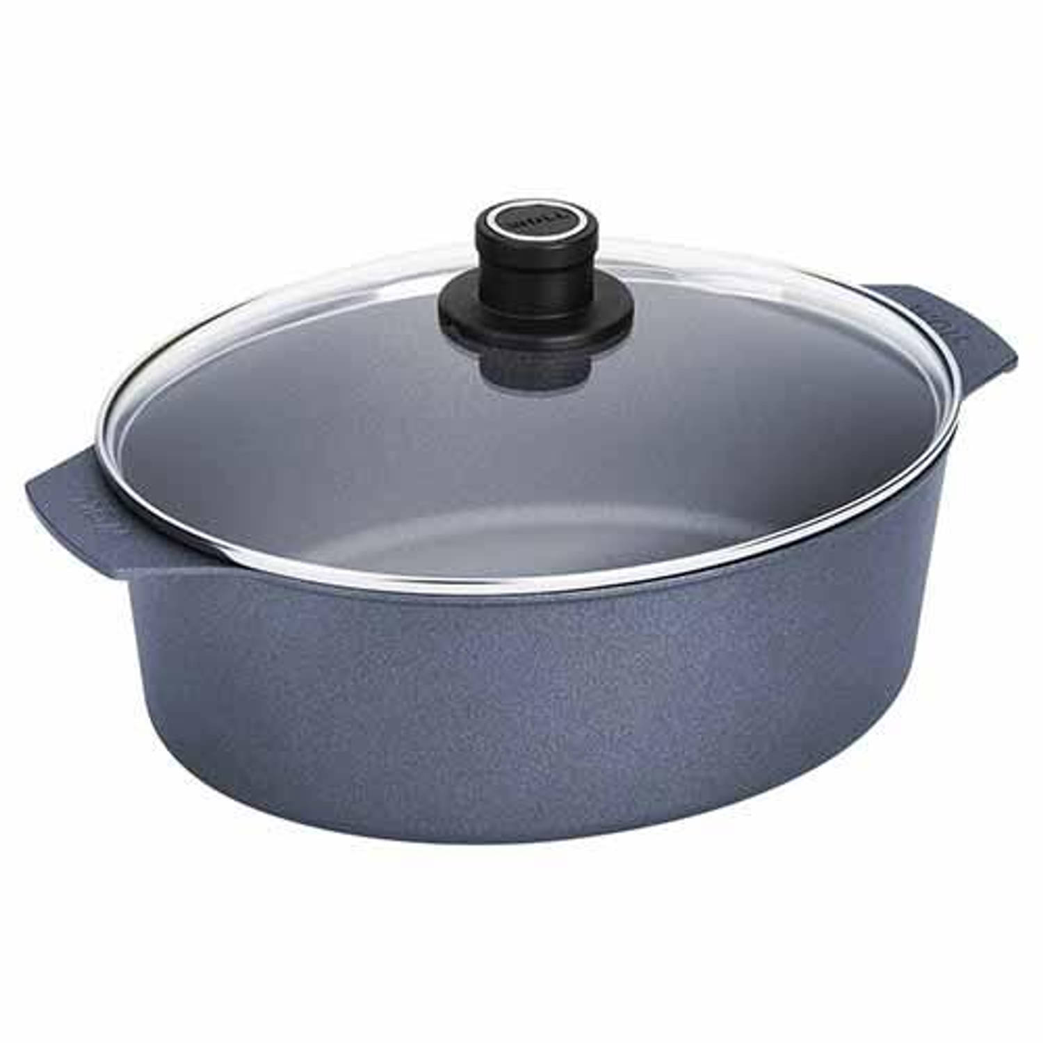 Braadpan met deksel, 6 liter - woll - diamond lite induction