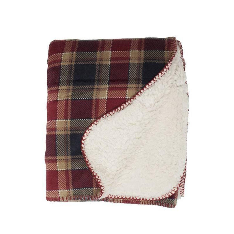 Unique Living Kody fleece plaid - 100% polyester, Fleece polyester - 130x160 cm - Multi