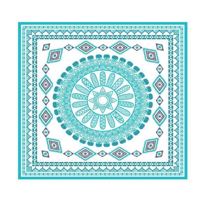 Afbeelding van Arkhipelagos For All strandlaken - 100% katoen - 180x180 cm - Blauw