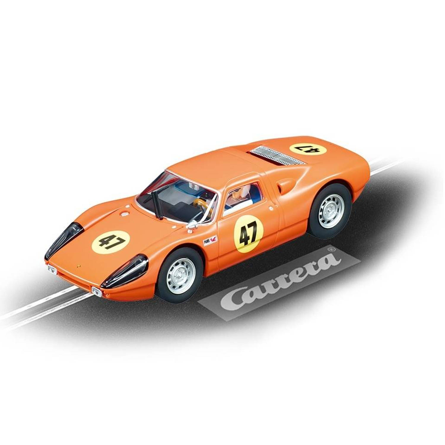 Carrera Evolution racebaan auto Porsche 904 Carrera GTS No.47