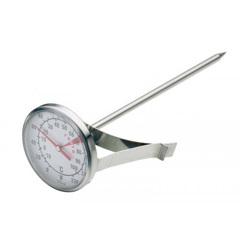 KitchenCraft RVS melk / melkschuim thermometer - Kitchen Craft