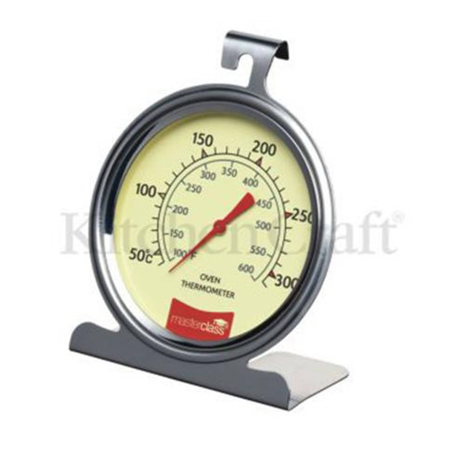 Luxe RVS oventhermometer - Masterclass
