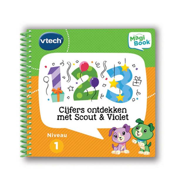 VTech MagiBook activiteitenboek - Cijfers ontdekken met Scout & Violet