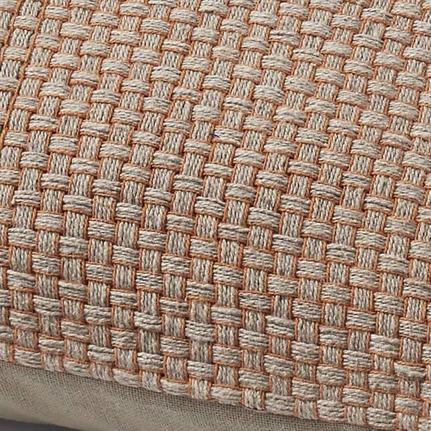 Dutch Decor Kussenhoes Tolowa 45x45 cm taupe