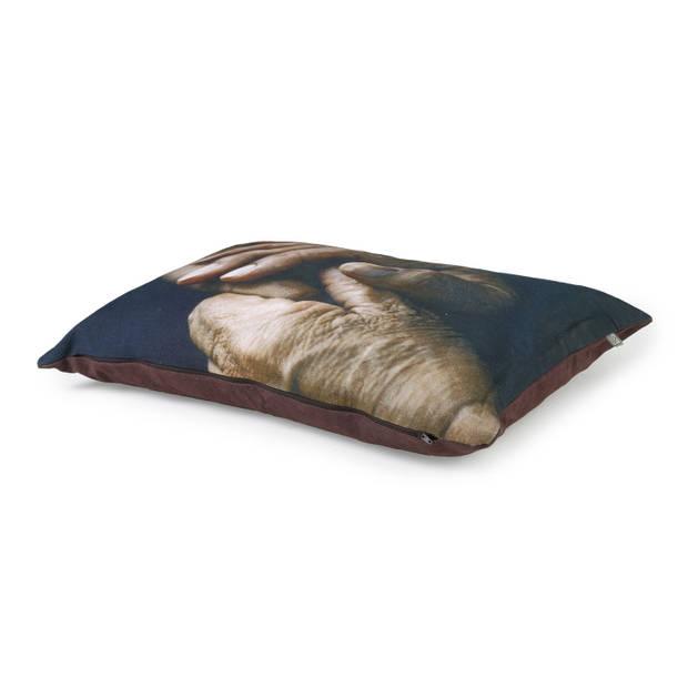 Dutch Decor Kussenhoes Blomme 40x60 cm bruin