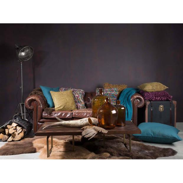 Dutch Decor Kussenhoes Buys 45x45 cm klei