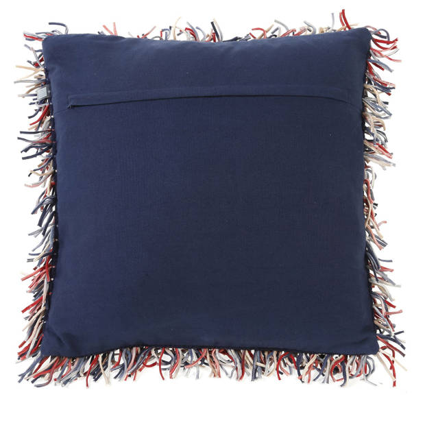 Dutch Decor Kussenhoes Buys 45x45 cm donkerblauw
