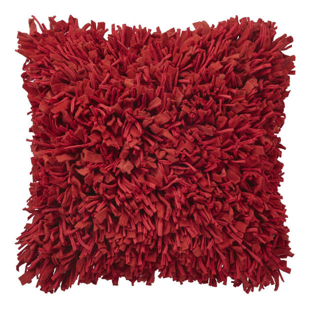 Dutch Decor Kussenhoes Brijo 45x45 cm rood