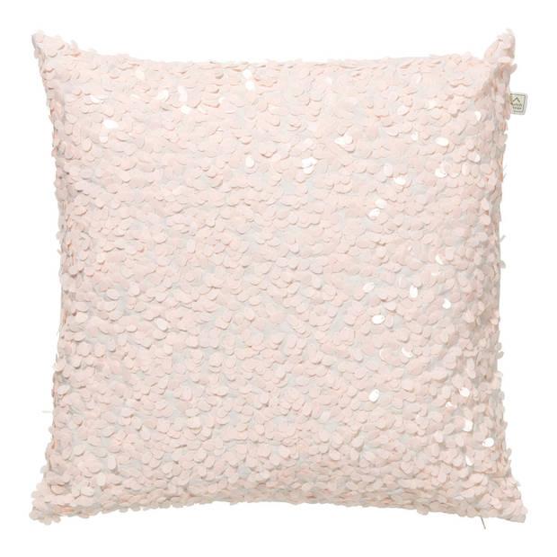 Dutch Decor Kussenhoes Lovuri 45x45 cm roze