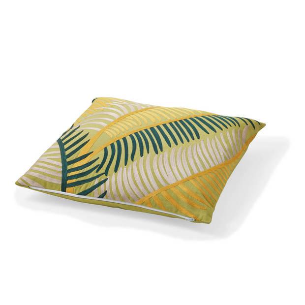 Dutch Decor Kussenhoes Hapag 45x45 cm lime
