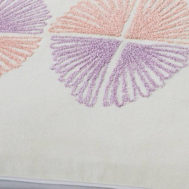 Dutch Decor Kussenhoes Etel 30x50 cm lichtgrijs