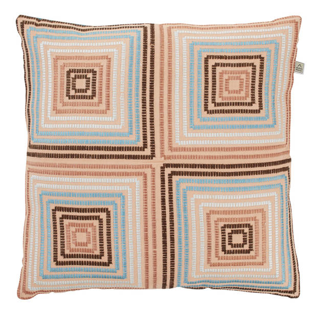 Dutch Decor Kussenhoes Sarita 45x45 cm petrol