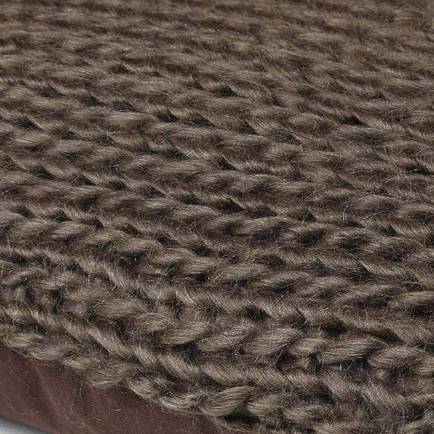 Dutch Decor Kussenhoes Wilga 45x45 cm bruin