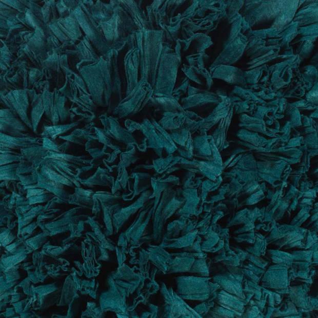 Dutch Decor Kussenhoes Romano 45x45 cm smaragd