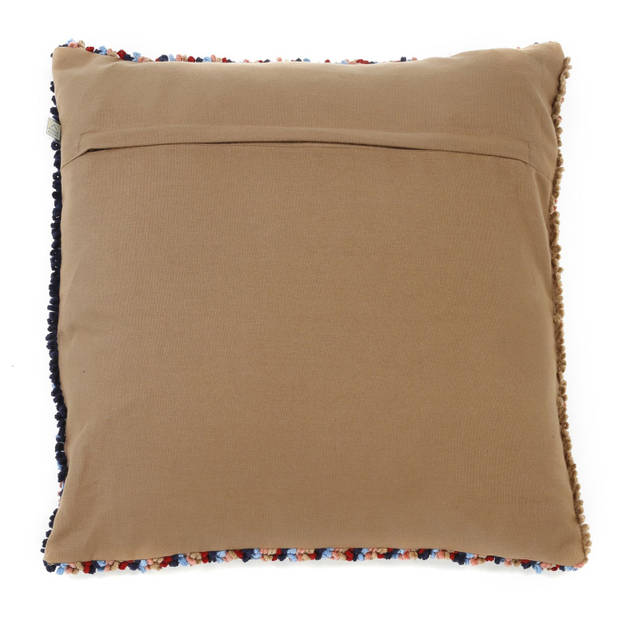 Dutch Decor Kussenhoes Fiesta 45x45 cm camel